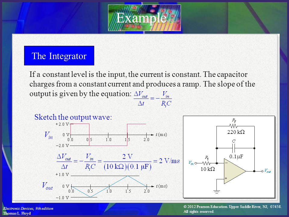 Example The Integrator