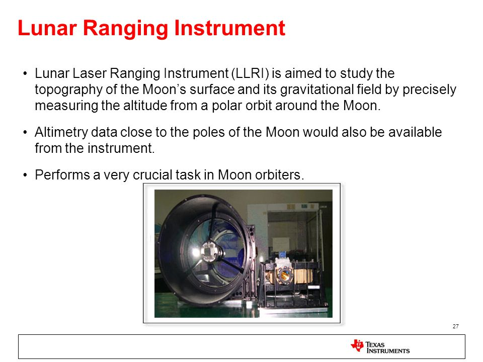 Lunar Ranging Instrument