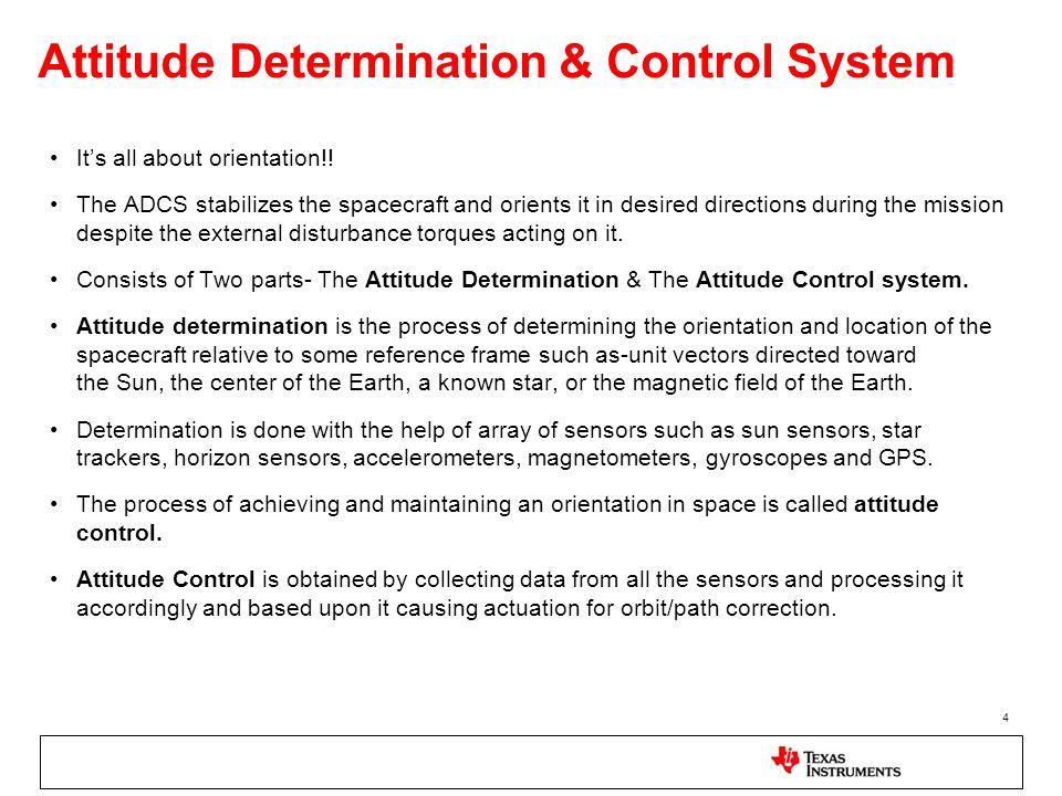 spacecraft attitude determination and control - photo #24