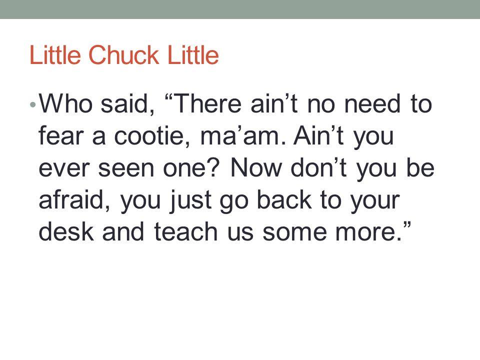 Little Chuck Little