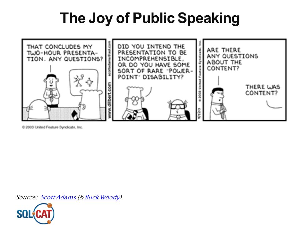 The Joy of Public Speaking