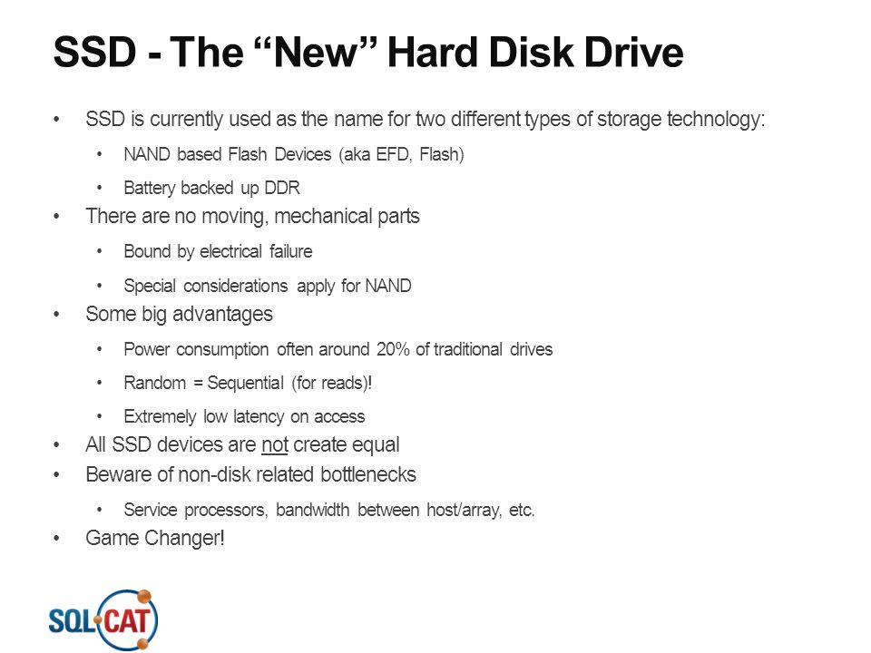 SSD - The New Hard Disk Drive