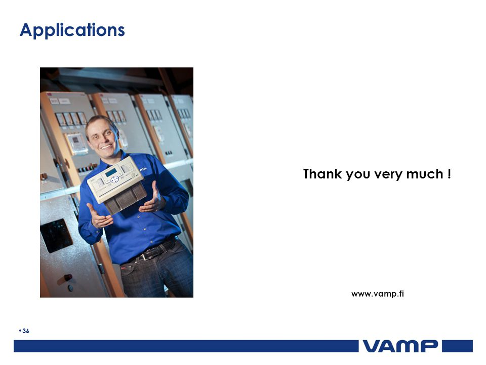 Thank you very much ! www.vamp.fi