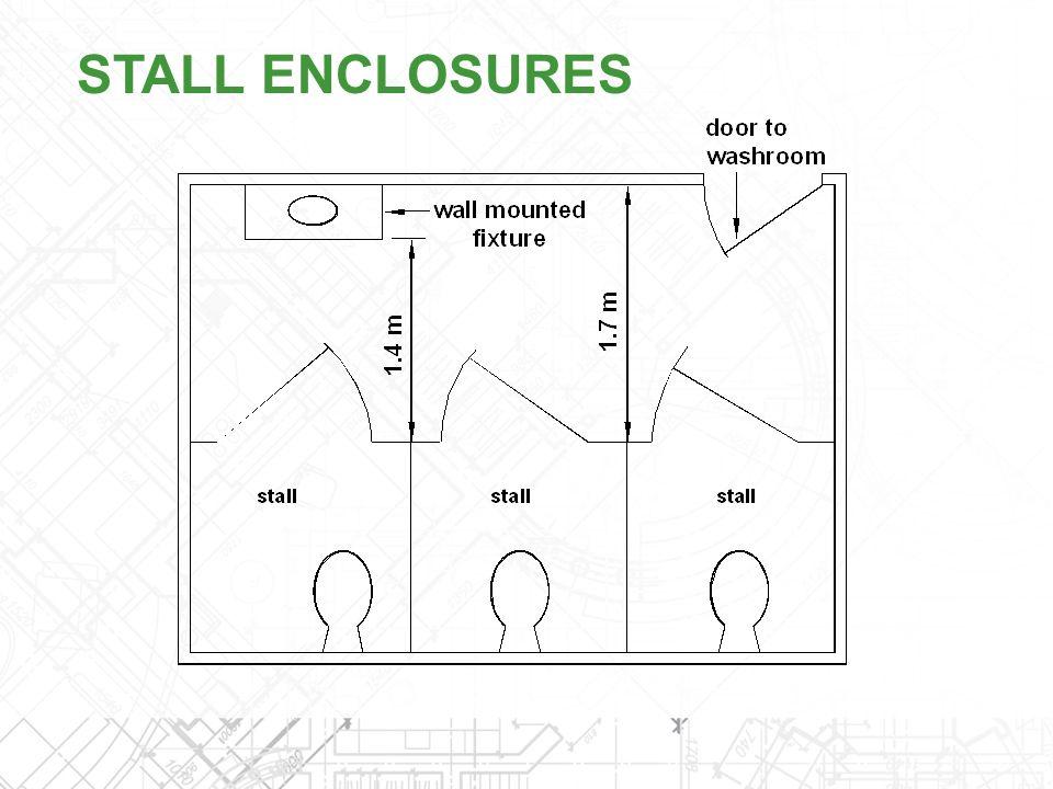STALL ENCLOSURES