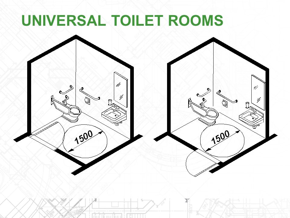 UNIVERSAL TOILET ROOMS