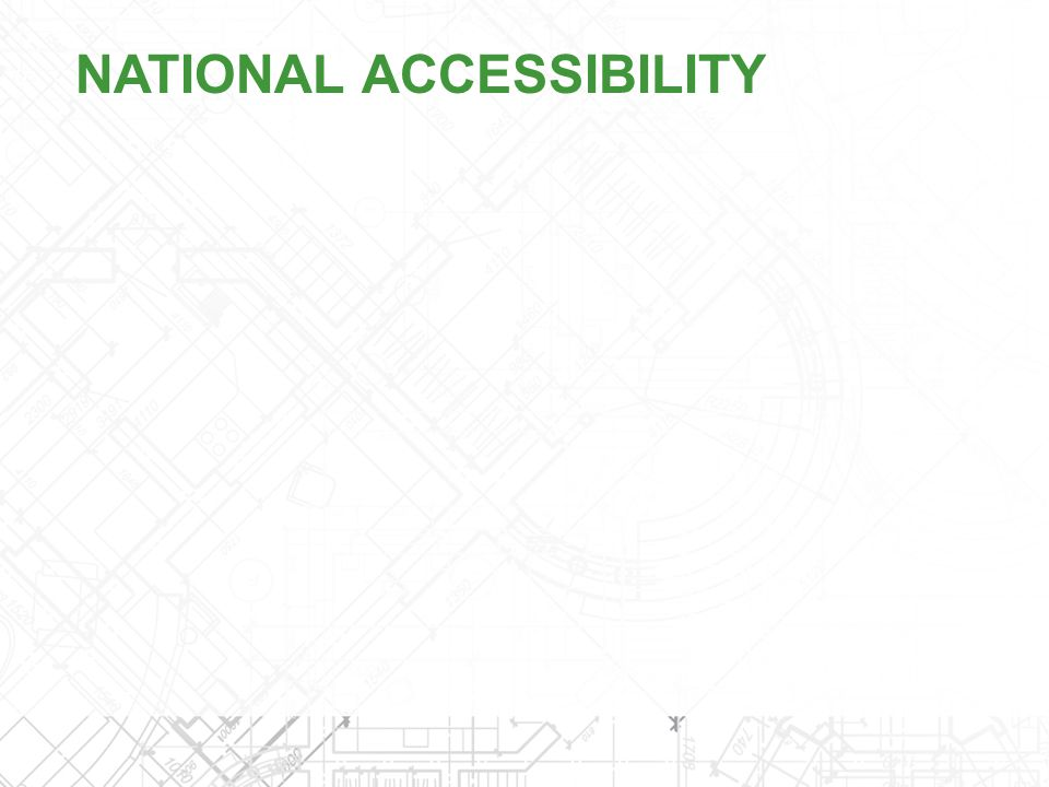 NATIONAL ACCESSIBILITY