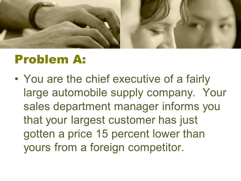 Problem A: