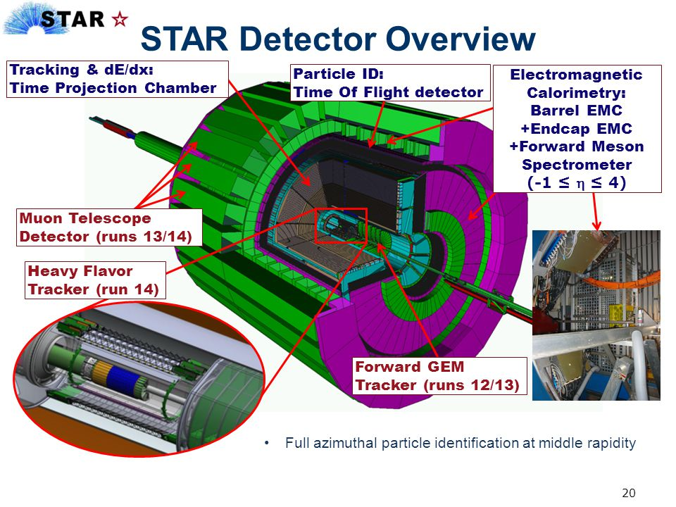 STAR Detector Overview