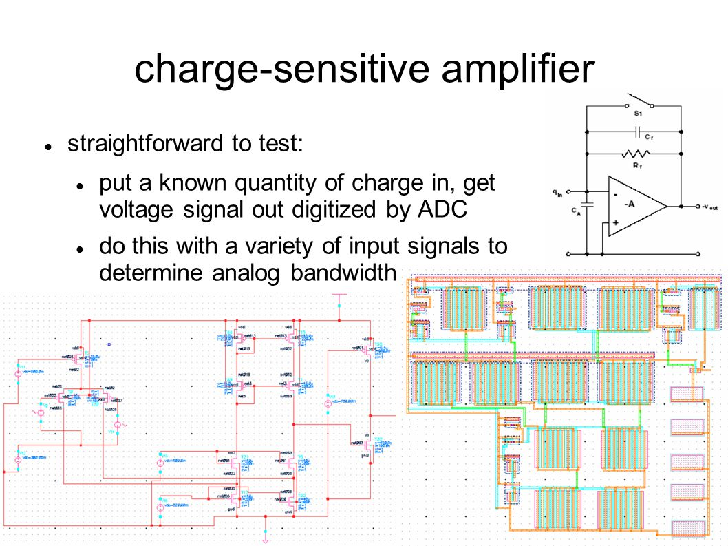 charge-sensitive amplifier