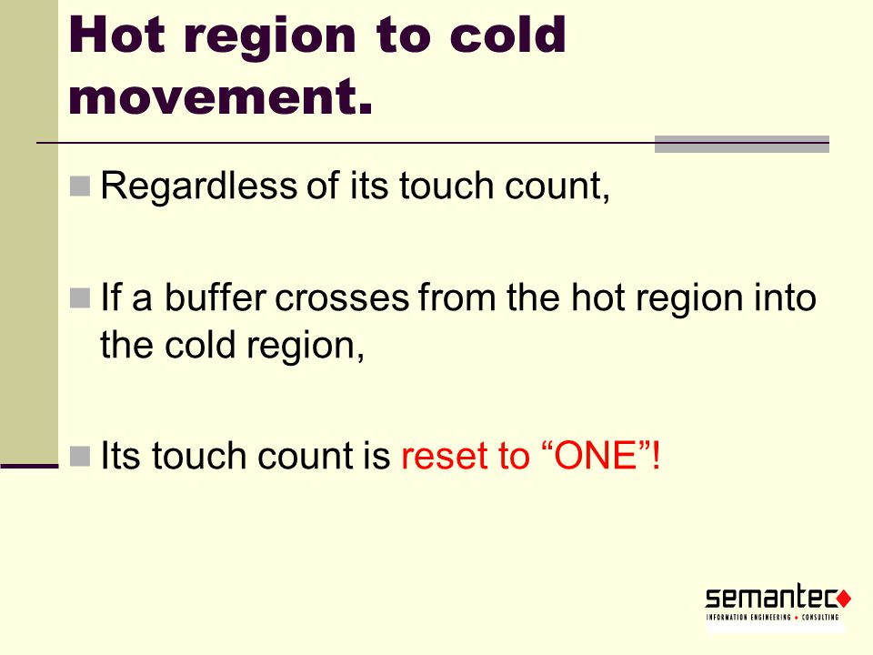 Hot region to cold movement.