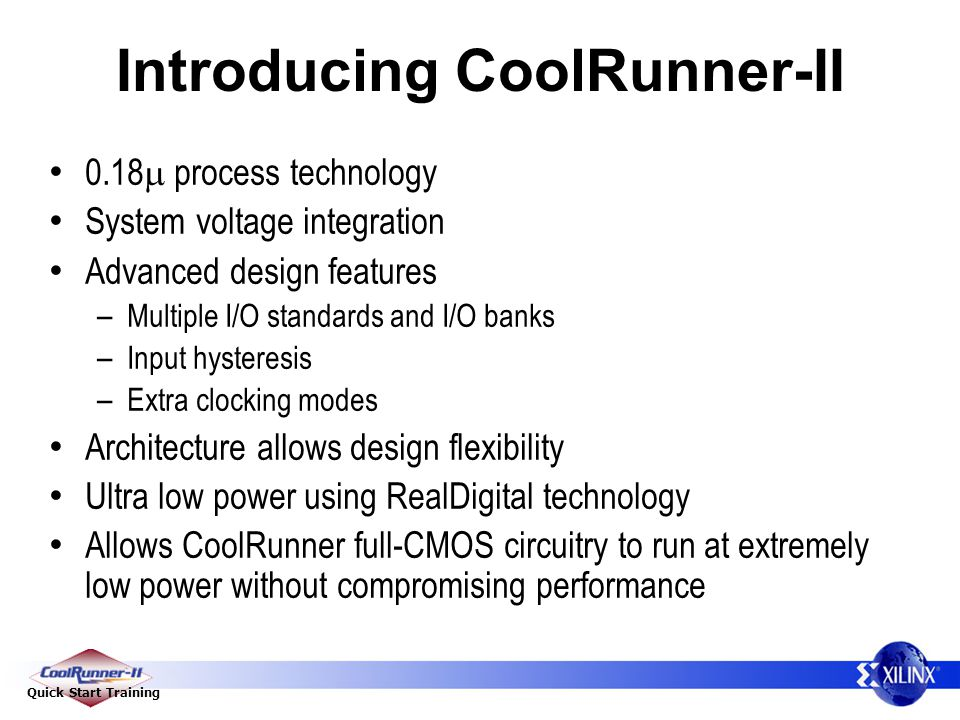 Introducing CoolRunner-II