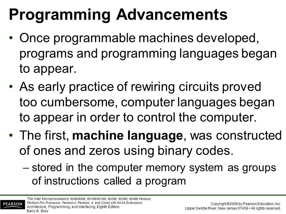 Programming Advancements
