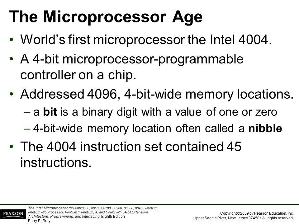 The Microprocessor Age