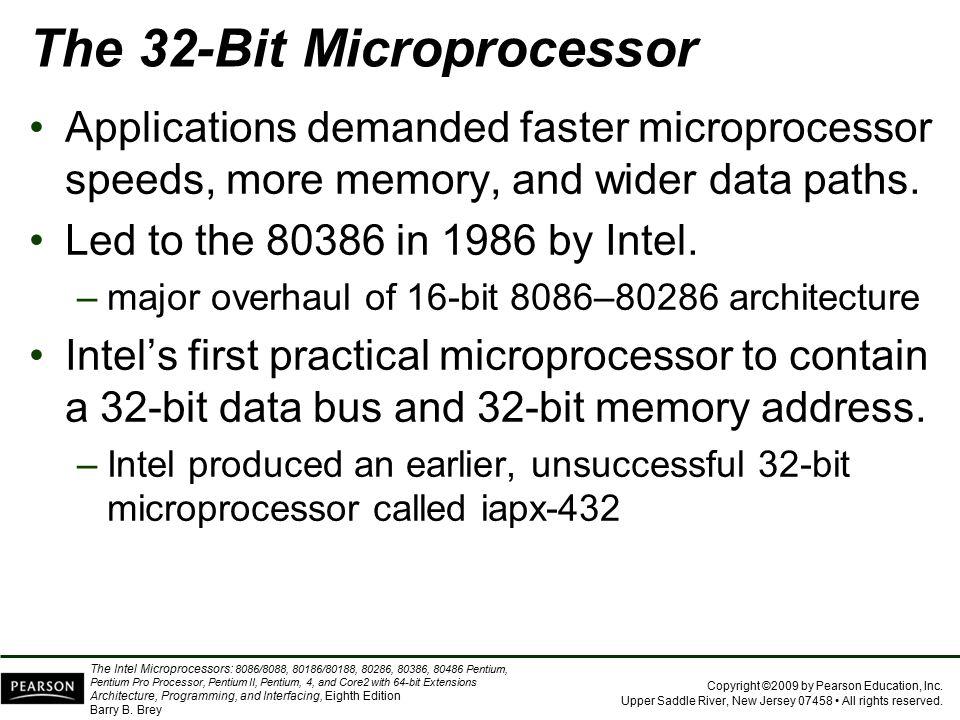 The 32-Bit Microprocessor