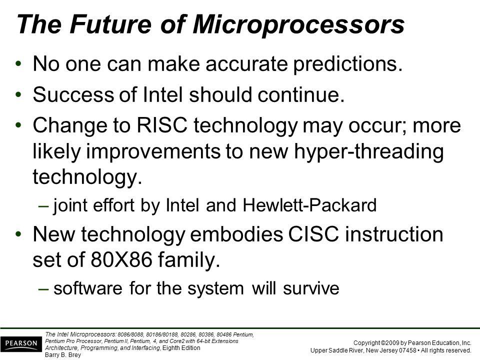 The Future of Microprocessors