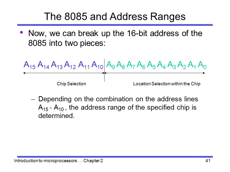 Location Selection within the Chip