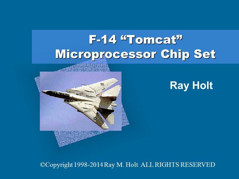 F-14 Tomcat Microprocessor Chip Set