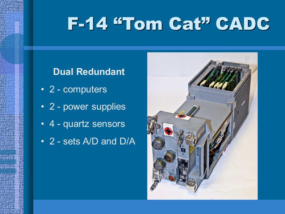 F-14 Tom Cat CADC Dual Redundant 2 - computers 2 - power supplies