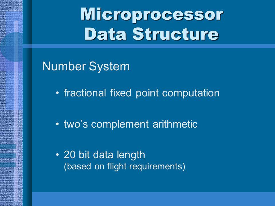 Microprocessor Data Structure