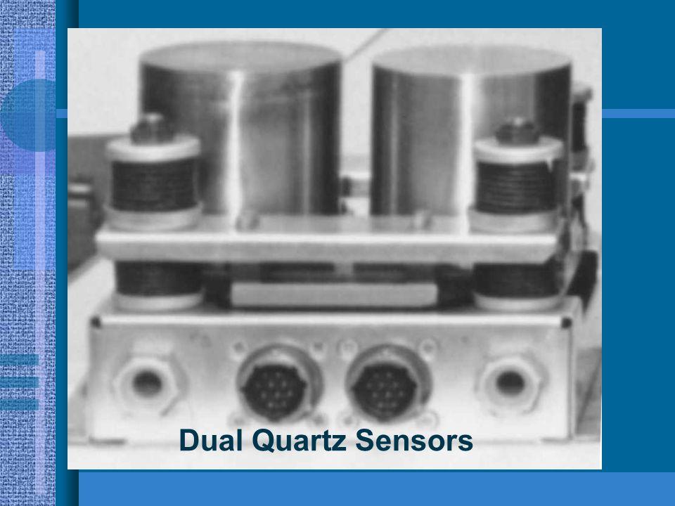 * 07/16/96 Dual Quartz Sensors *