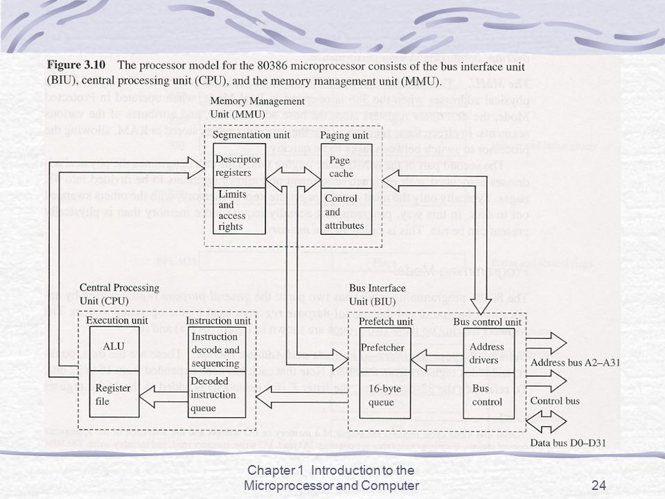 Chapter 1 Introduction to the Microprocessor and Computer