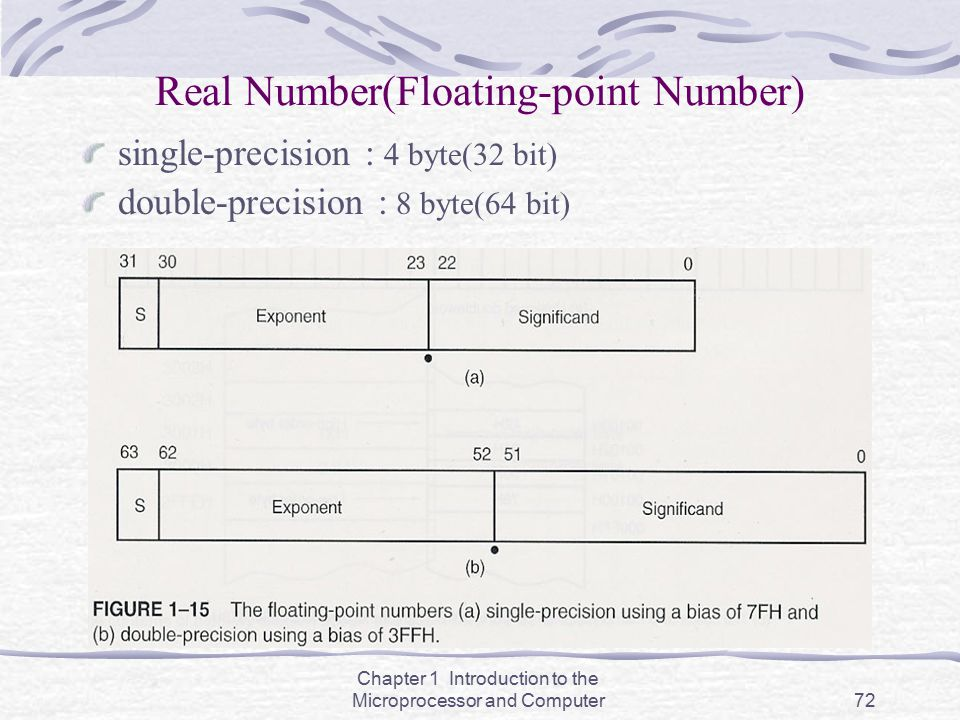 Real Number(Floating-point Number)