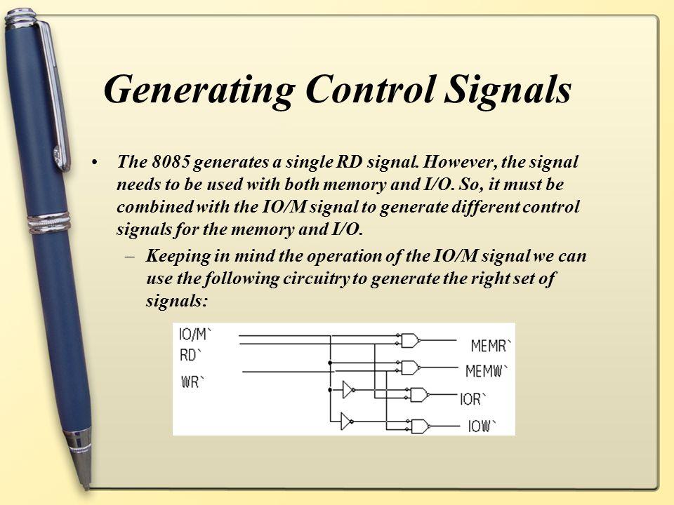 Generating Control Signals