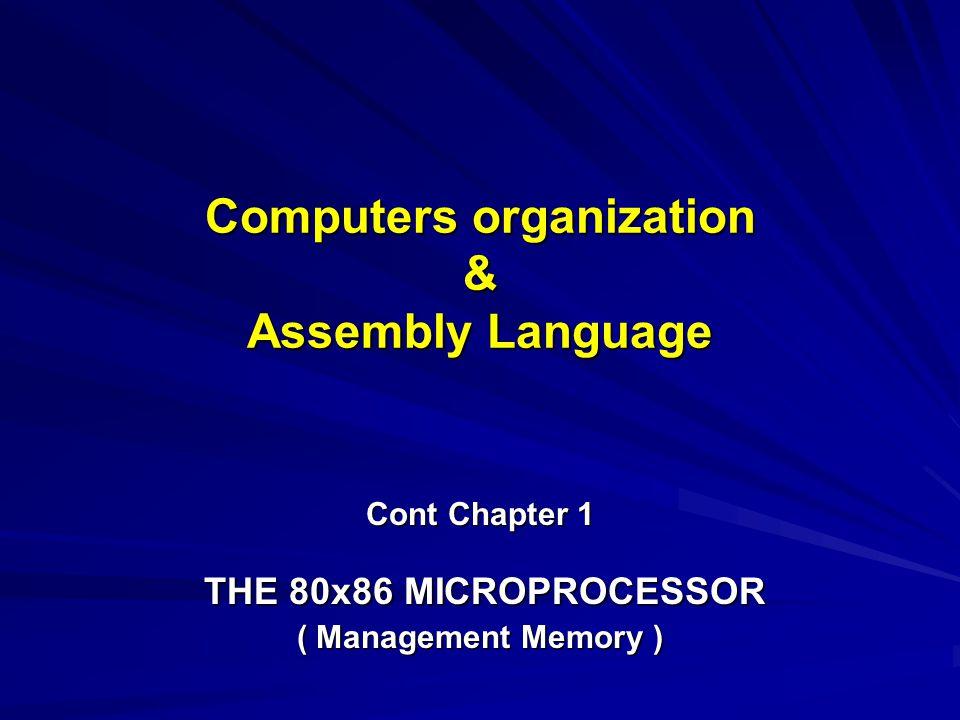 Computers organization & Assembly Language