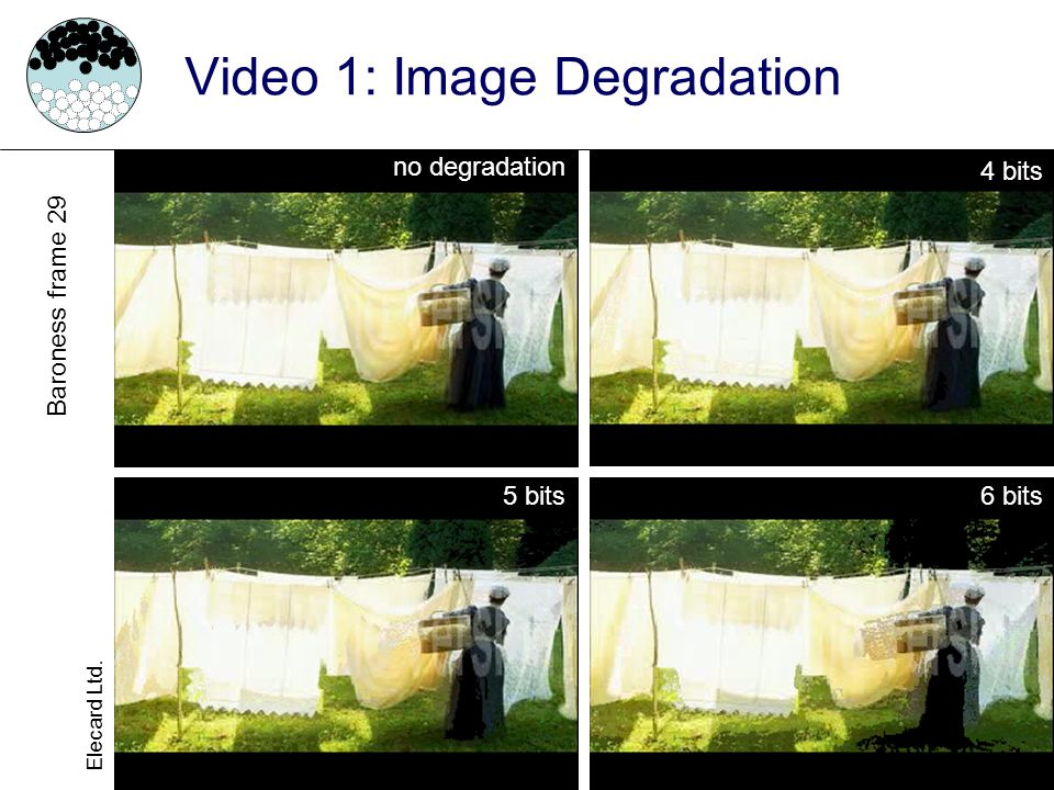 Video 1: Image Degradation