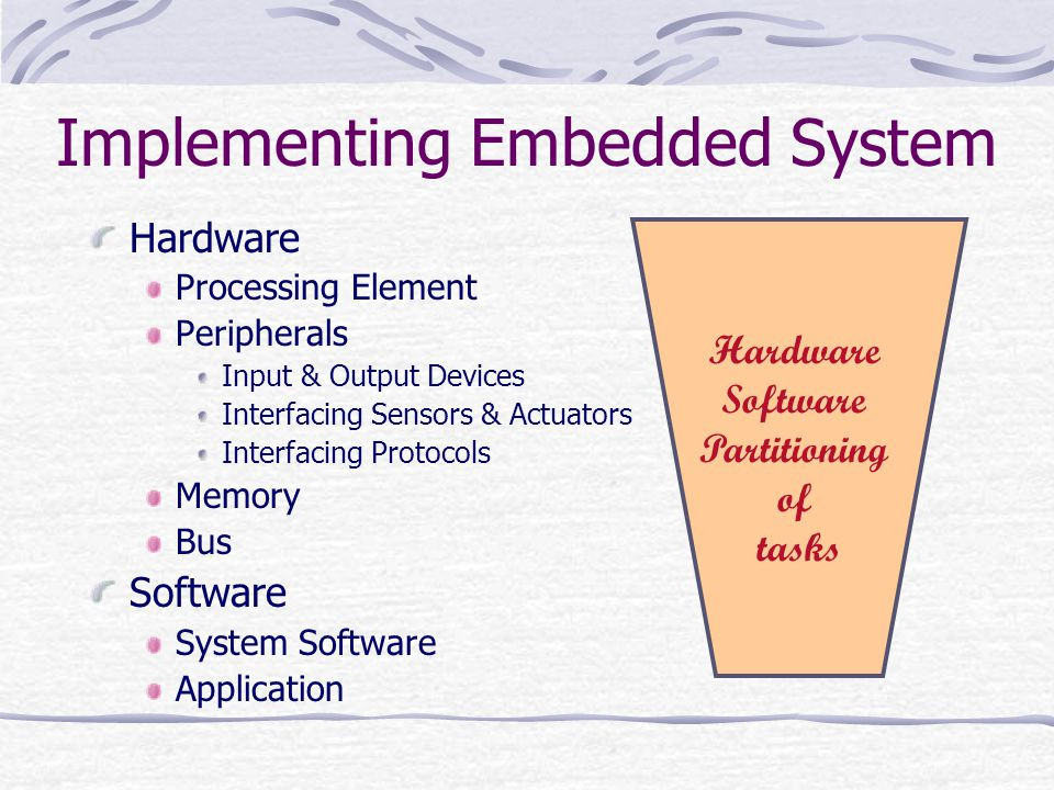 Implementing Embedded System