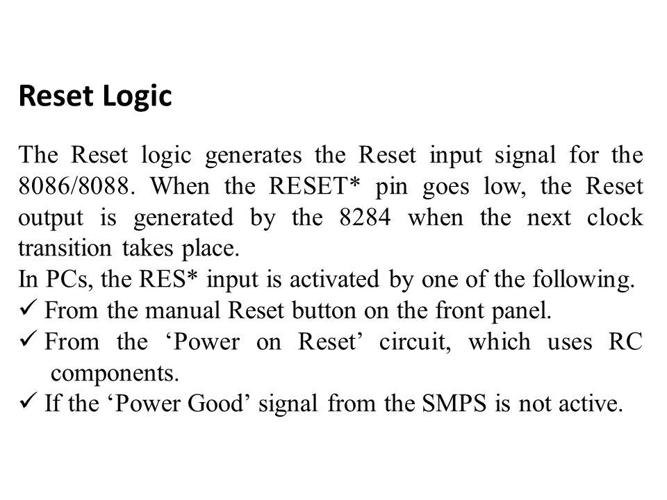 Reset Logic