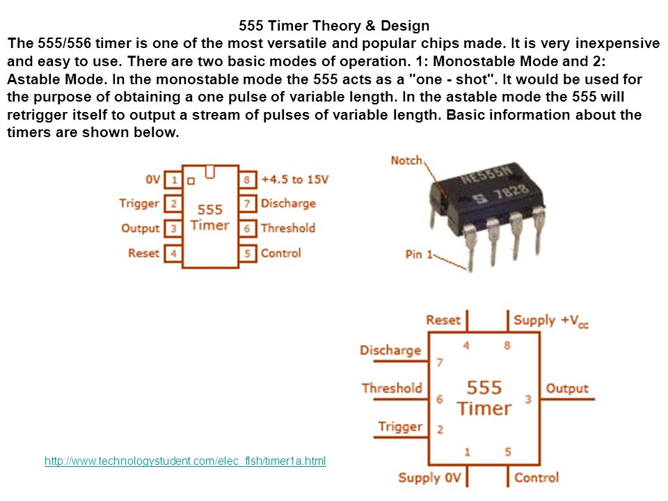 555 Timer Theory & Design