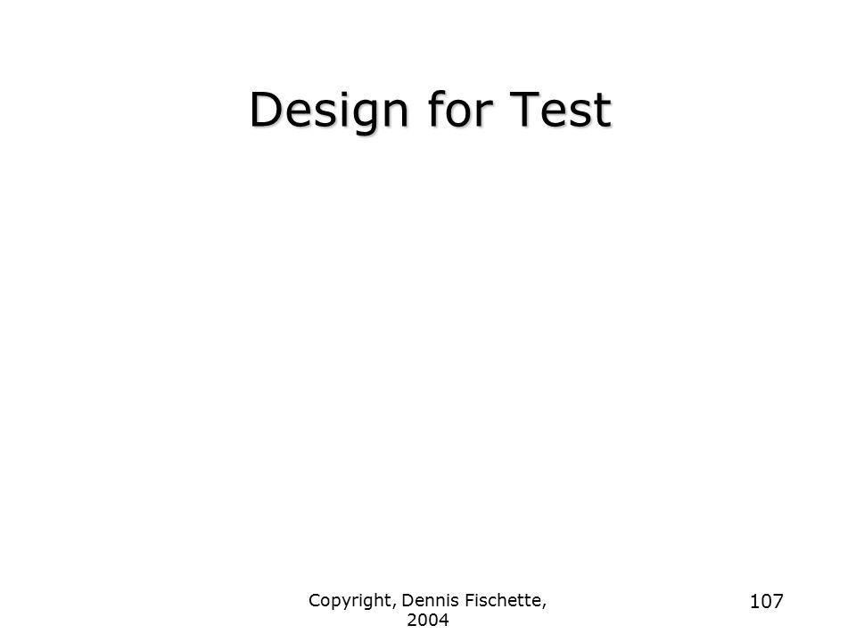 Copyright, Dennis Fischette, 2004