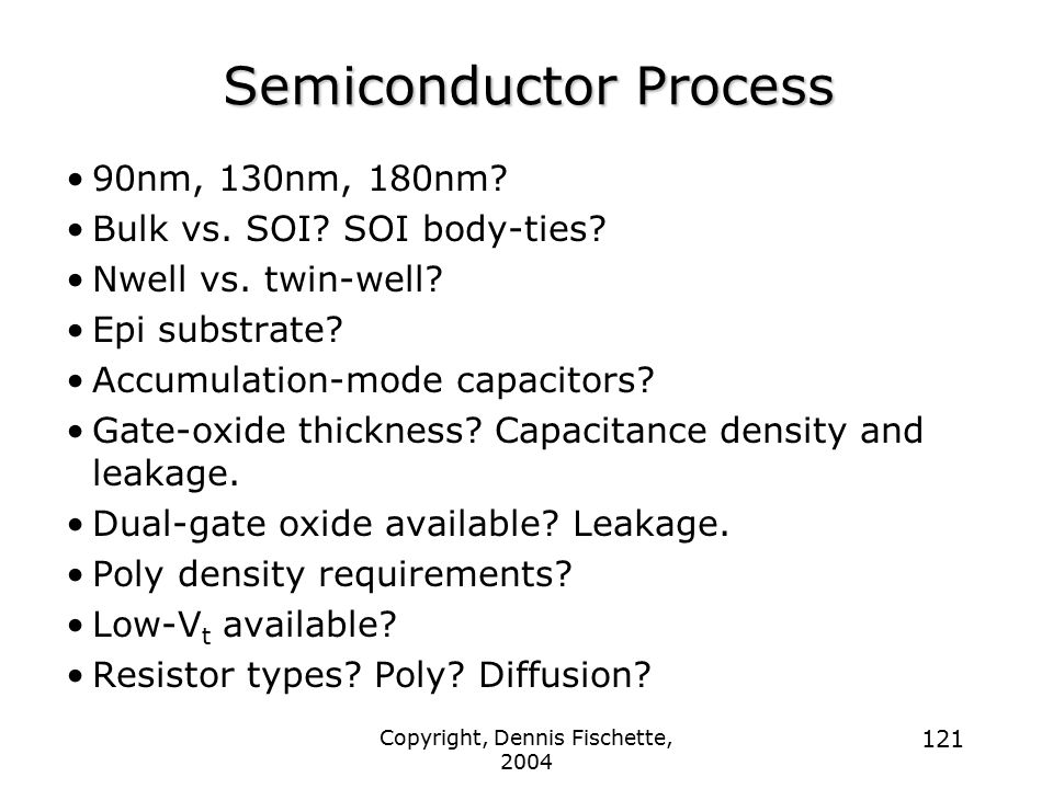 Semiconductor Process