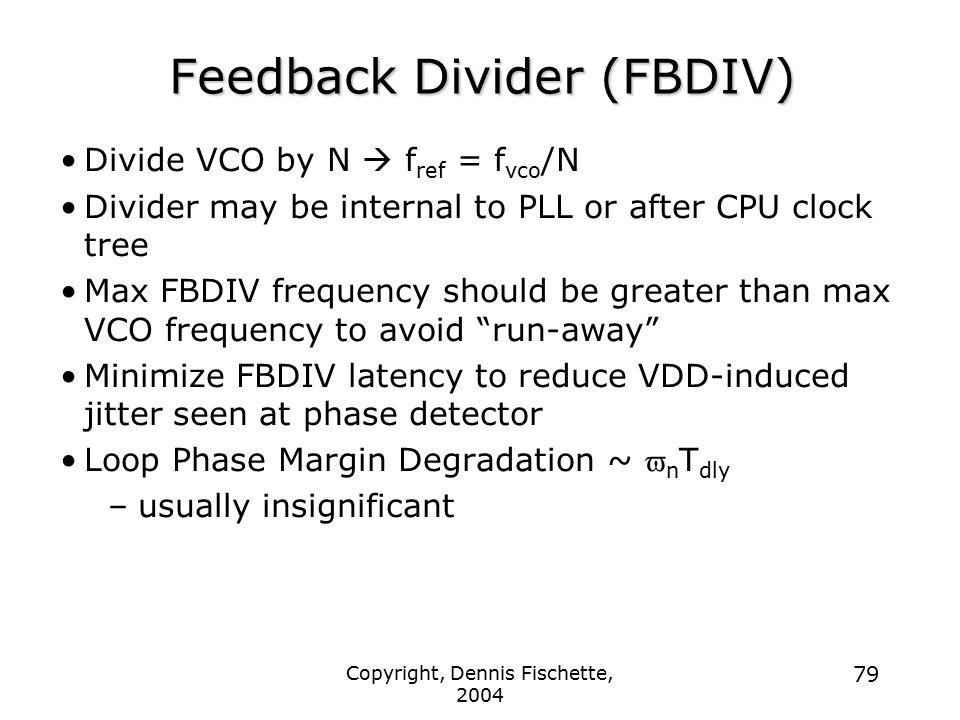 Feedback Divider (FBDIV)