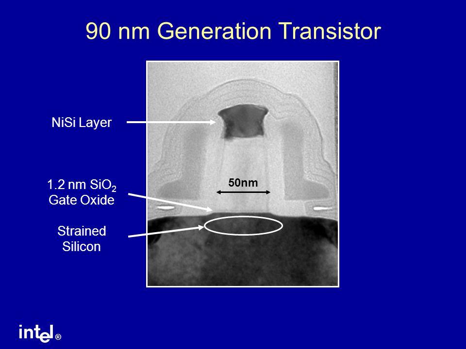 90 nm Generation Transistor