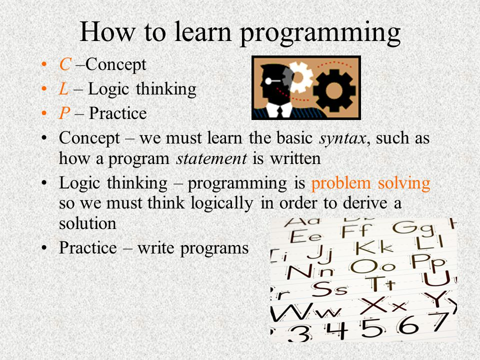 How to learn programming