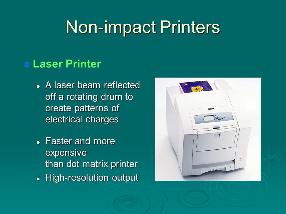 Non-impact Printers Laser Printer