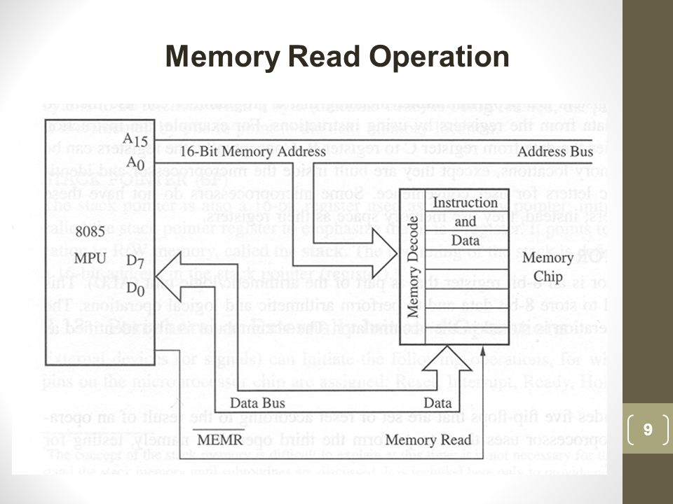 Memory Read Operation