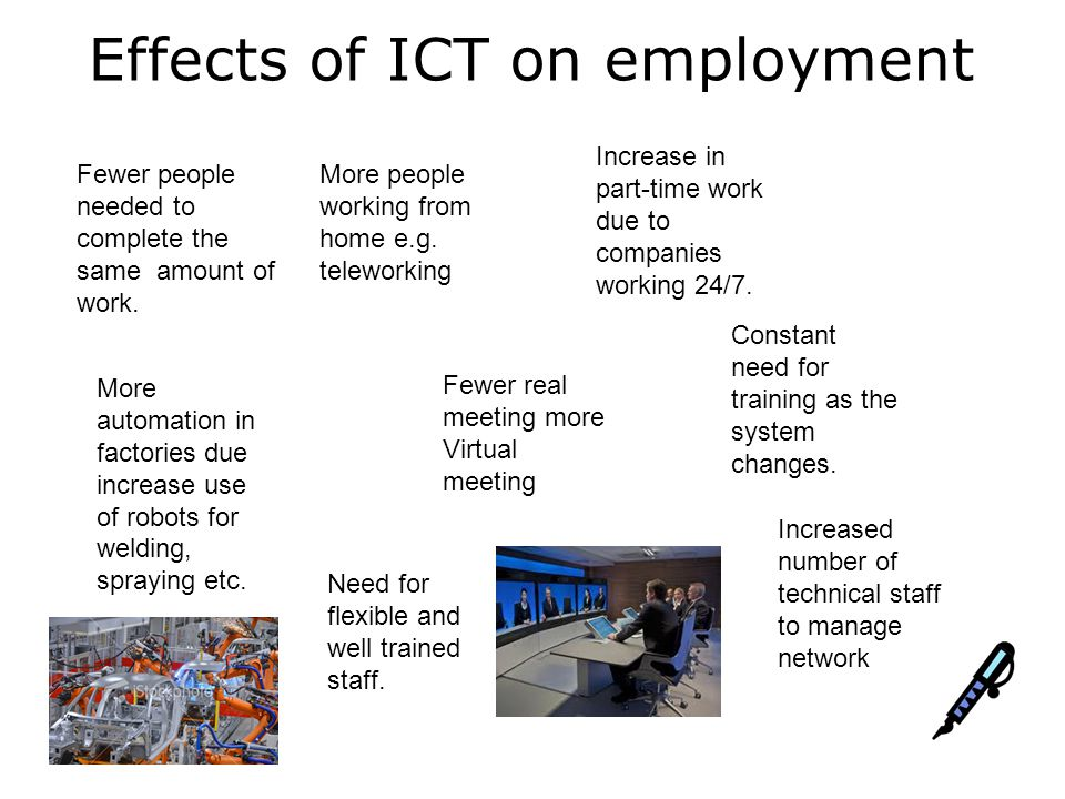 effect of ict on supermarket View on this issue by assessing the impact of ict on economic growth for 50 major ict- spending countries, which together account for over 90% of the global ict market we.