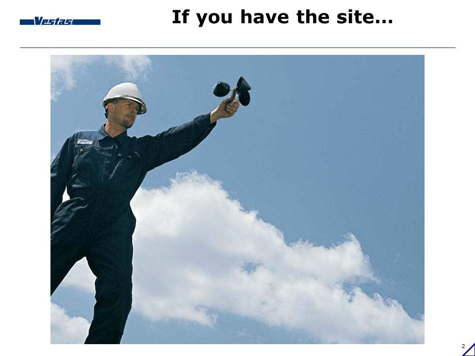 If you have the site…