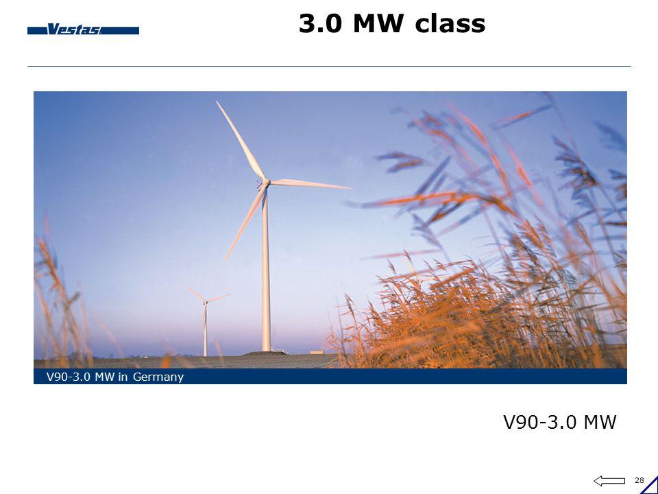 3.0 MW class V90-3.0 MW in Germany V90-3.0 MW