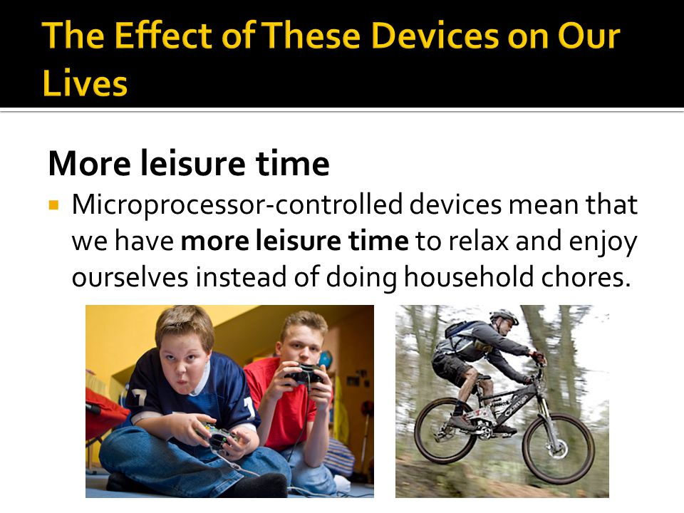 The Effect of These Devices on Our Lives