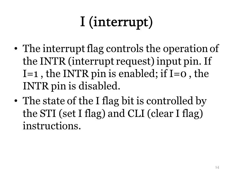 I (interrupt)