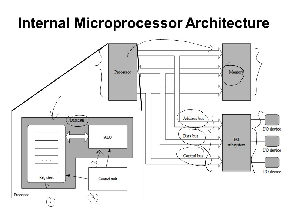 Internal Microprocessor Architecture