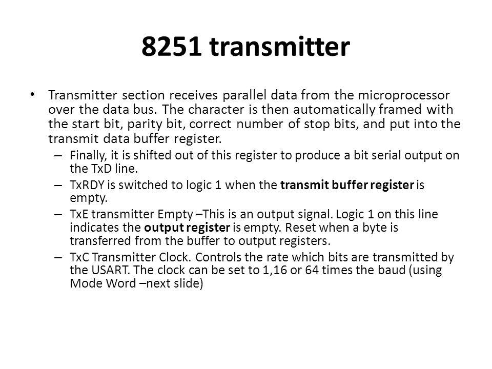 8251 transmitter