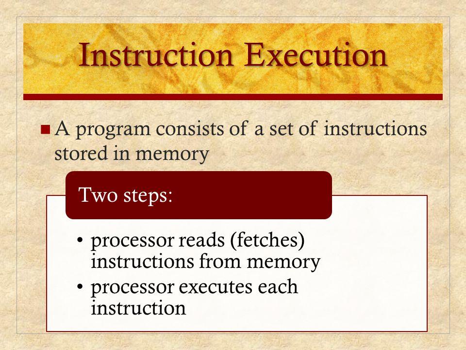 Instruction Execution