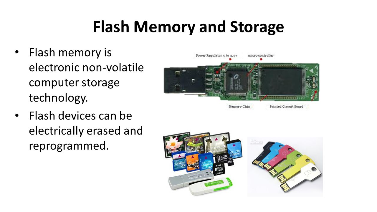 Flash Memory and Storage