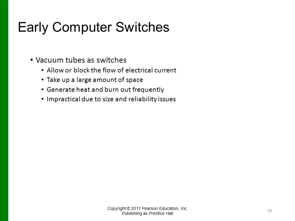 Early Computer Switches