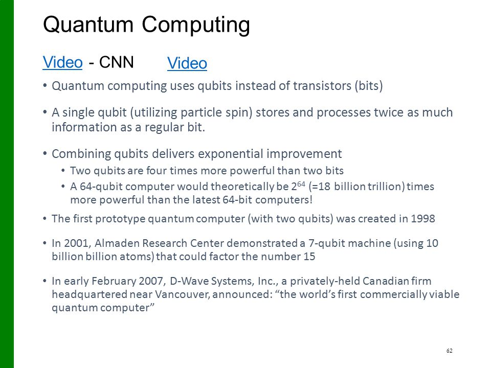 Quantum Computing Video - CNN Video © The KTP Company, 2005